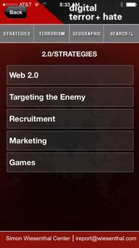 Digital Terrorism & Hate apk screenshot