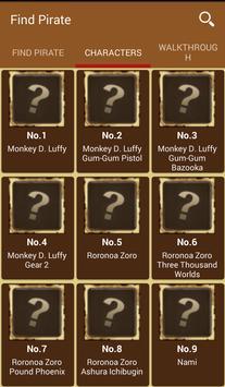 Find Pirate - ONE PIECE- Tool apk screenshot