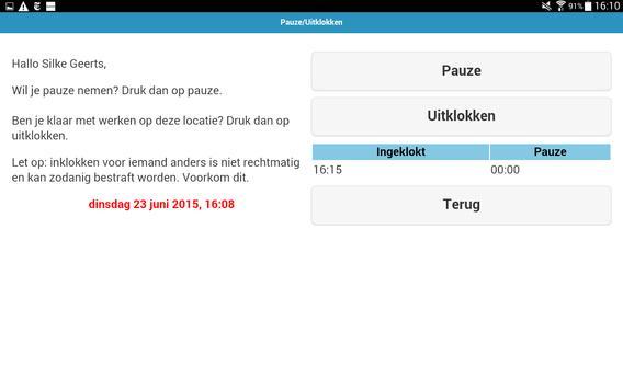 Compo Inklokken screenshot 15