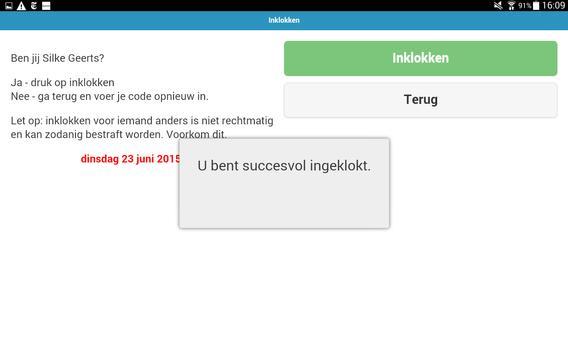 Compo Inklokken screenshot 2