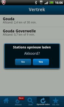 Hoe laat gaat mijn trein? screenshot 4