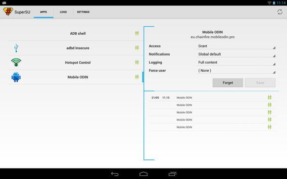 SuperSU screenshot 9