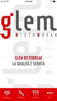 GLEM APP poster