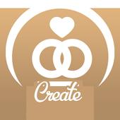 Make a Wedding cards icon
