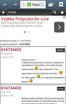 Czyj To Numer apk screenshot
