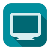 Screen resolution info (ResInfo) icon