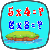Times Tables Math Trainer FREE icon