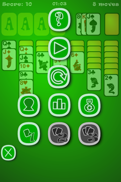 Classic Klondike Solitaire screenshot 1