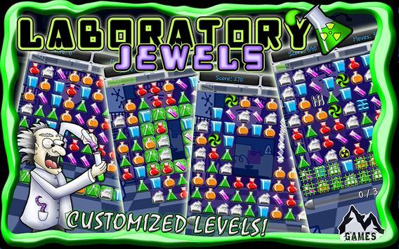 Laboratory Jewels apk screenshot