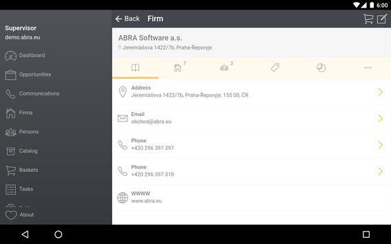 ABRA CRM screenshot 8