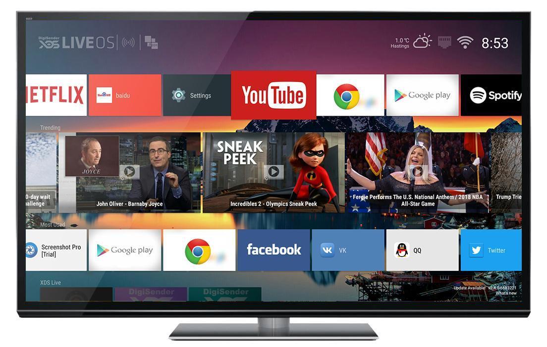 Tv Box Launcher Digisender Xds Live Os Für Android Apk Herunterladen