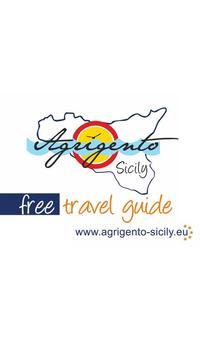 Agrigento Sicily Travel Guide poster