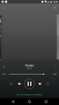 AirSpot - AirPlay + DLNA for Spotify (trial) apk screenshot