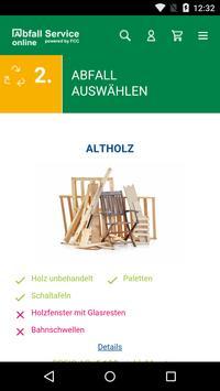 Abfall Service online screenshot 1