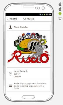 Risciò Cassino RistoBar apk screenshot