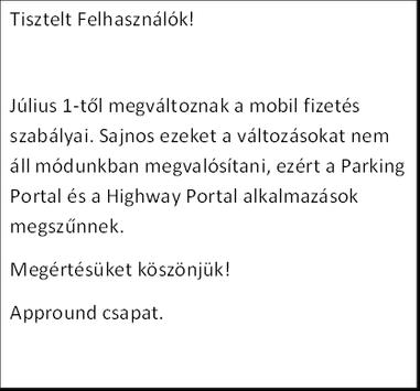 Highway Portal Megszűnt! screenshot 1