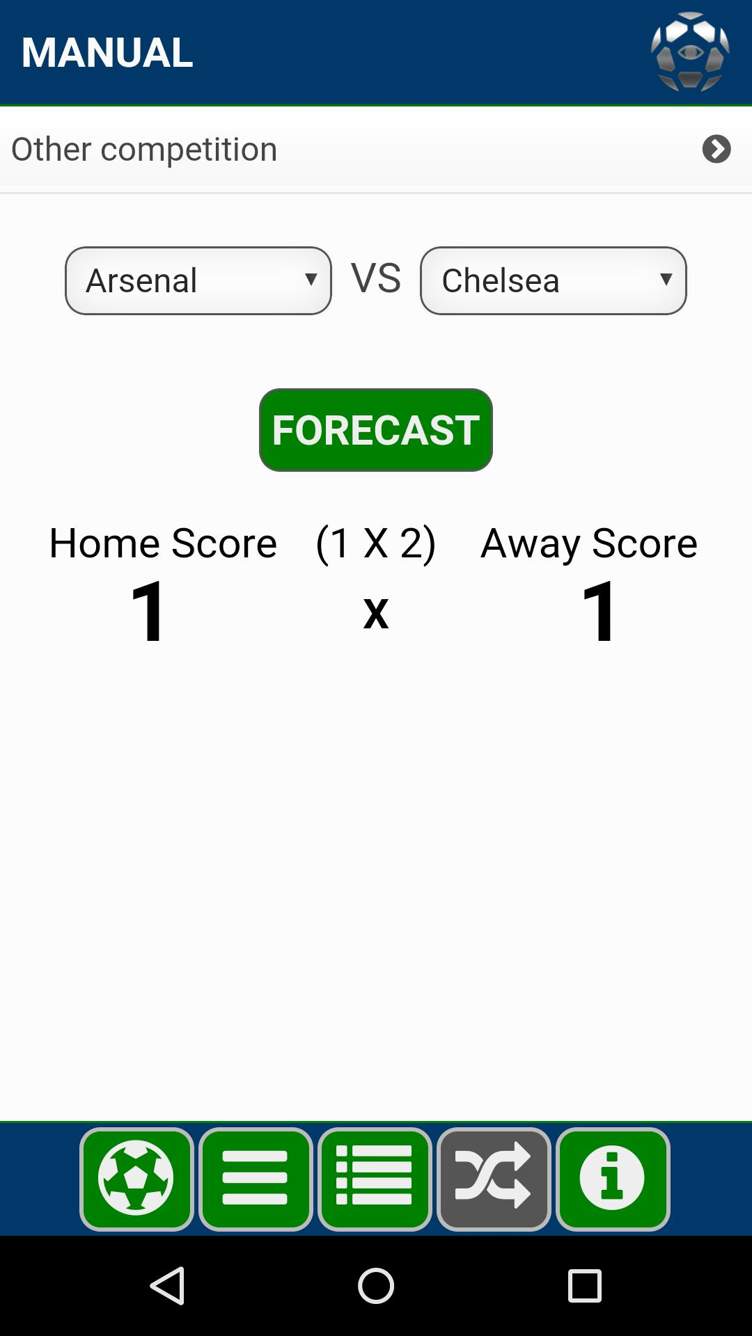 Soccer Forecast for Android - APK Download