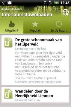 InfoTour Explorer apk screenshot