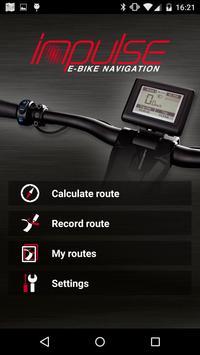 Impulse E-Bike Navigation poster