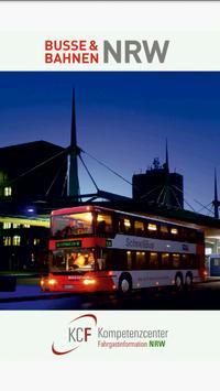 KCF Fahrplan poster