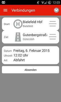 KCF Fahrplan screenshot 2
