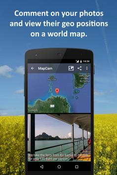 MapCam - Geo Camera & Collages apk screenshot