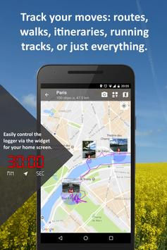 PhotoMap Gallery - Photos, Videos and Trips apk screenshot