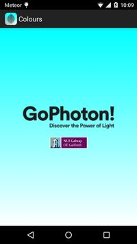 GoPhoton! Colours poster