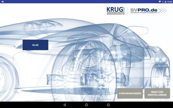 SVPRO Glas-App poster