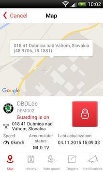 GPSLoc screenshot 1