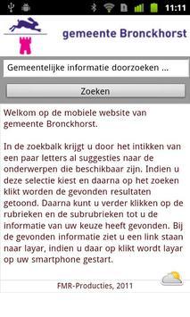 Bronckhorst poster