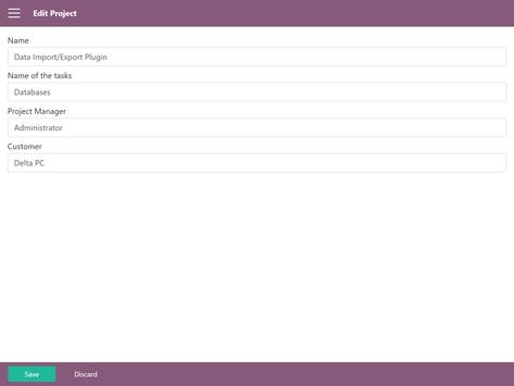 Odoo Projects apk screenshot