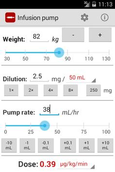 Infusion pump poster