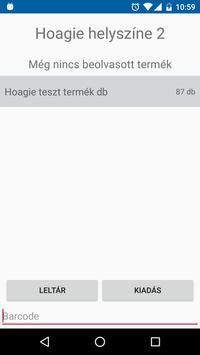 EasyPM Leltár apk screenshot