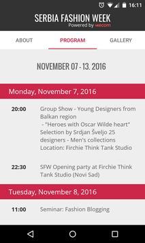 Serbia Fashion Week poster