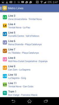 Route Plan Barcelona Metro Map screenshot 5