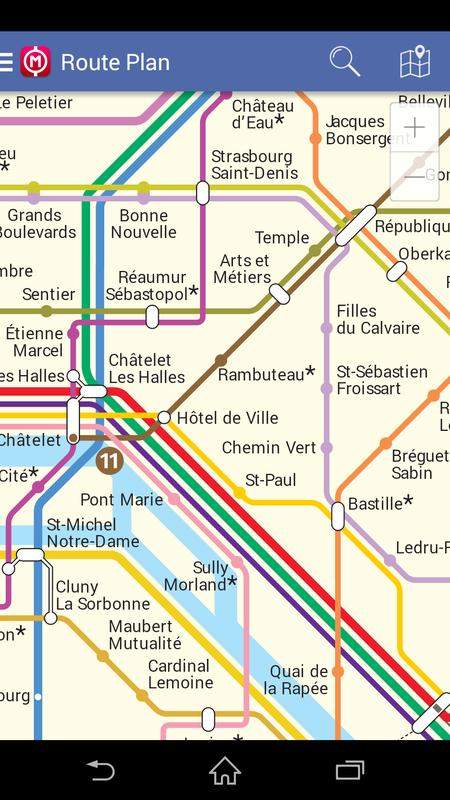 Paris Metro Map Download.Paris Metro Map Route Plan For Android Apk Download