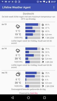 Lifeline weather agent (Unreleased) apk screenshot