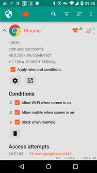 NetGuard - no-root firewall apk screenshot