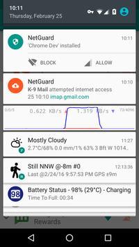 NetGuard, cortafuegos sin root captura de pantalla de la apk