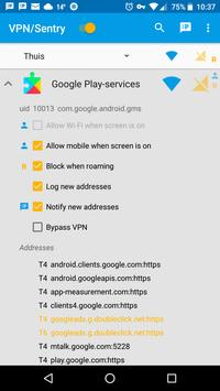 VPN/Sentry screenshot 4