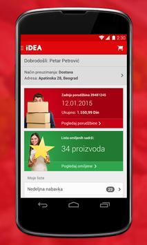 IDEA mobile application poster