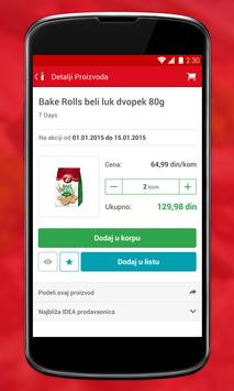 IDEA mobile application apk screenshot