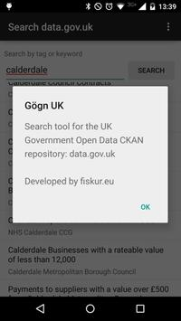 Gögn UK apk screenshot