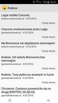Kraków News poster