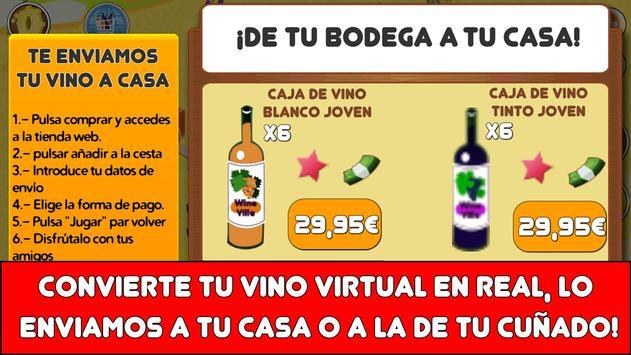 Juego de Vino - Wine Ville apk screenshot