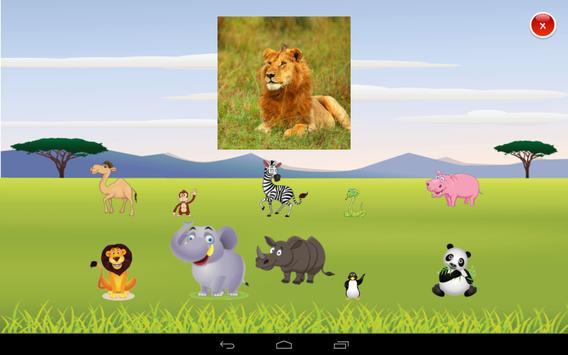 Safari 123 counting game apk screenshot