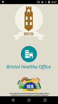 Bristol HealthyOffice poster