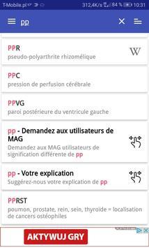 MAG Medical Abbreviations FR screenshot 4