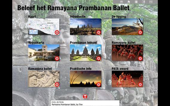 Ramayana Prambanan Ballet NL poster